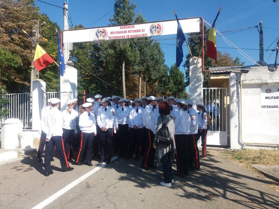 Viitorii militari ai Armatei României, în vizită la Centrul de Recuperare și Refacere al AMVVD de la Târgoviște