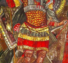 26 octombrie-Sfântul Mare Mucenic Dimitrie, Izvorâtorul de Mir, patronul spiritual al AMVVD